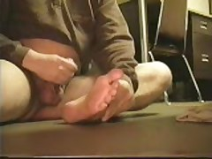 Jerking Off And Showing Feet
