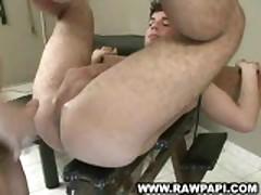 Sexy Latin Wild Bareback Fuck