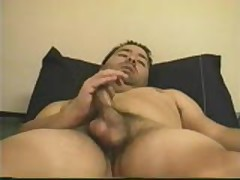 Jerking Off In My Bed