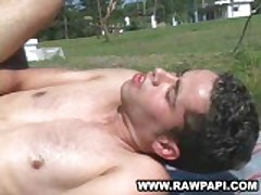 Latino Muscled Men Hardcore Bareback