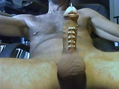 My Pierced Dick Cumshot
