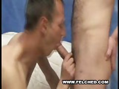 Gay Bareback Filled With Cum