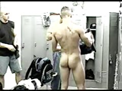 Jocks Changing In Lockerroom