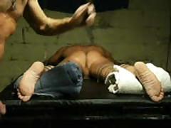 Tickling Ticklish Feet