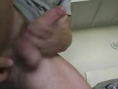 Horny Man Who Shook His Penis And Balls