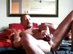 Wanking On Bed