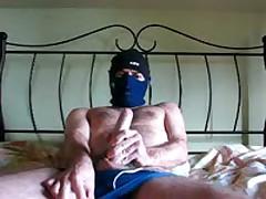 Wanking In A Faded Blue Speedo