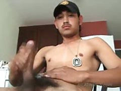 Big Uncut Latino Cock