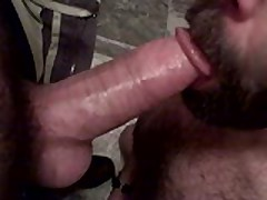 Sucked A Buddy'S Thick Cock And Load