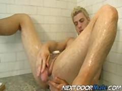 Seductive Andrew Blue Beats His Rock-Hard Dick Part 2