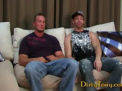 Str8 Muscle Bottom Pounded!