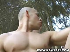 Latin Gay Spank Tight Butt Hump