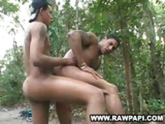 Wild Gay Latino Hot Forest Fuck
