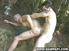 Hot Latino Gay Army Fucking