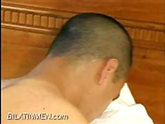 Young Bubble Butt Fucked By Straight Top