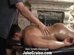 Nikk Torretto Massaged