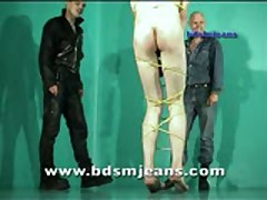 Two Jeans Master Spank Slave