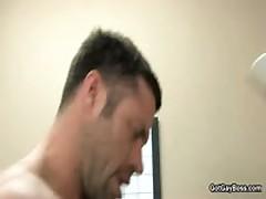 Shane Frost Getting His Steamy Weiner Sucked Off 7 By GotGayBoss