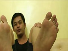 Gay Asian Feet Fetish: Alone With Lex