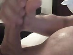 Bisexual In Heat Jacking Off To Porn