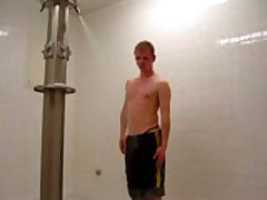 Wank In The Shower