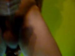 Bisex Juega Con Botella