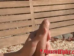 Mason Wyler Fingers His Ass Part 1