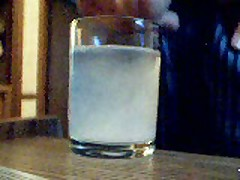 Cumming In A Glass Of Water