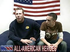 Marine Brent & Petty Officer Tanner