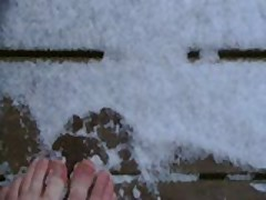 My Lovly Feet In The Snow