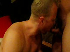 Muscle BLonde Boy Gives BJ
