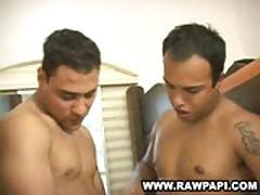 Gay Latino Soldiers Barebacking
