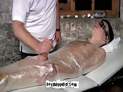Blindfolded And Mummified