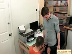Horny Guys Sucking In The Office By Gotgayboss