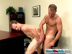 Penis Sucking Off Action In The Work 13 By HardOnJob