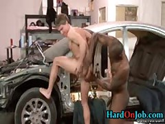 Gay Fucking And Cock Sucking At The Office 10 By HardOnJob
