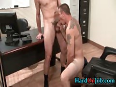 These Dudes Are Steamy And Hard In The Work 13 By HardOnJob