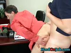 These Guys Are Horny And Hard In The Office 2 By HardOnJob