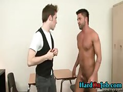 Gay Fucking And Cock Sucking At The Office 13 By HardOnJob