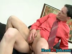 These Guys Are Horny And Hard In The Office 3 By HardOnJob