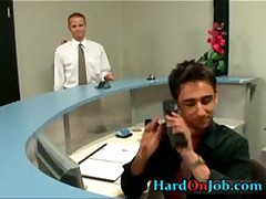 Brandon And Steven In Hardcore Ass Fucking Porn At Work 1 By HardOnJob