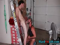 Chris And Dodger In Hardocre Gay Cock Sucking Action 3 By HardOnJob