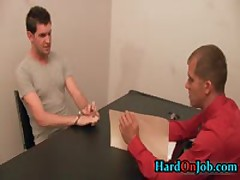 Brandon And Greg In Hardcore Ass Fucking Porn At Work 1 By HardOnJob