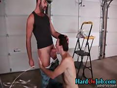 Chris And Dodger In Hardocre Gay Cock Sucking Action 1 By HardOnJob