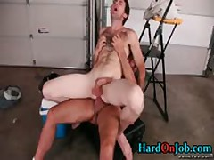 Chris And Dodger In Hardocre Gay Cock Sucking Action 4 By HardOnJob