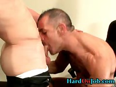 Dude With Hardon Gets Assfucked And Cock Sucked 2 By HardOnJob