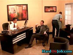Hunky Gay Dude Gets Jizzster Sucked At Work 1 By HardOnJob