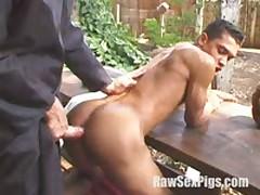 Brazilian Backyard Fucking