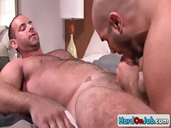 Lucky Guy Gets His Amazing Sack Licked 1 By HardOnJob