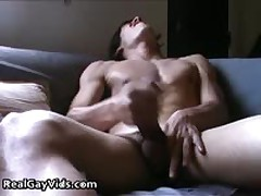 Adrian Masturbating Off His Awesome Firm Gay Erection 5 By RealGayVids